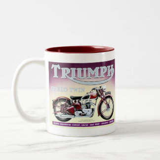 Triumph Speed Twin Two-Tone Coffee Mug