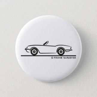 Triumph Spitfire 6 Cm Round Badge