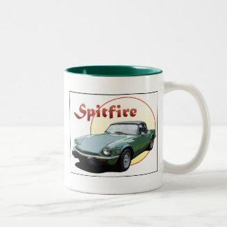 Triumph Spitfire Two-Tone Coffee Mug