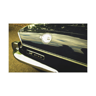 Triumph Stag Abstract Gallery Wrap Canvas