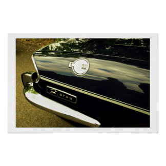 Triumph Stag Abstract Posters