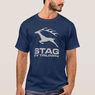 Triumph Stag Car Classic Vintage Hiking Duck T-Shirt