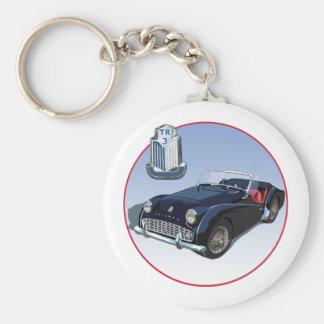 Triumph TR3 Key Ring