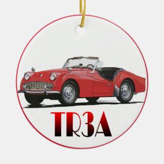 Triumph TR3A Ornament