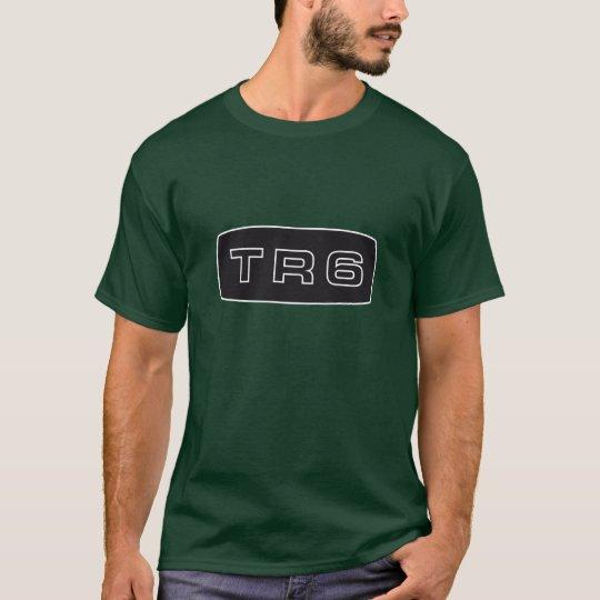 Triumph TR6 emblem script T-Shirt