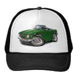 Triumph TR6 Green Car Trucker Hat