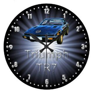 Triumph TR7 Classic Car Wall Clock
