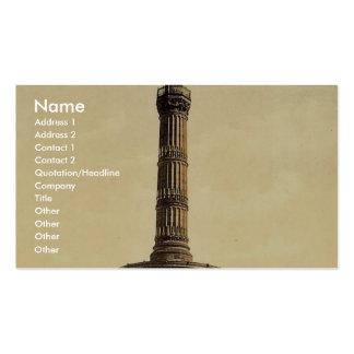 Triumphal Column, Berlin, Germany rare Photochrom Business Card Templates
