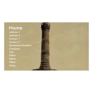 Triumphal Column, Berlin, Germany rare Photochrom Pack Of Standard Business Cards