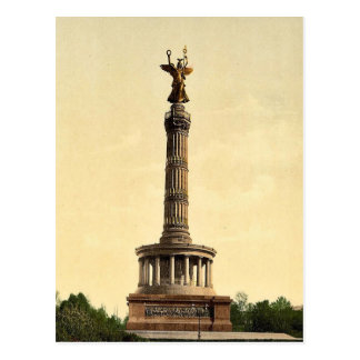 Triumphal Column, Berlin, Germany rare Photochrom Postcard