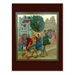 Triumphal Entry into Jerusalem Prayer Card