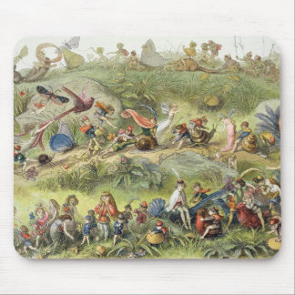 Triumphal March of the Elf-King, illustration from Mouse Mat
