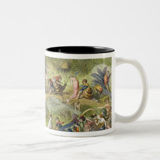 Triumphal March of the Elf-King, illustration from Two-Tone Coffee Mug