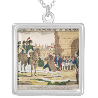 Triumphant Entry of the French into Madrid Silver Plated Necklace