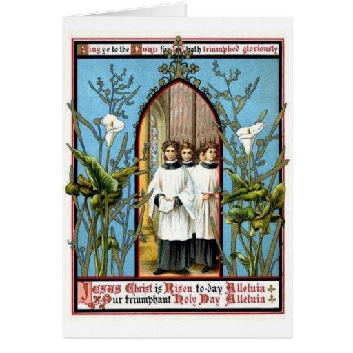 Triumphant Holy Day Card
