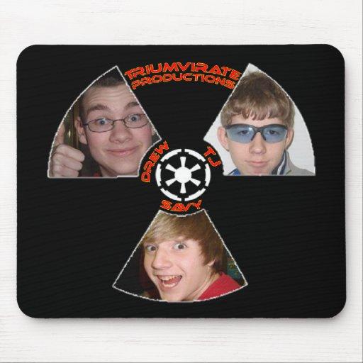 Triumvirate Productions Mousepad