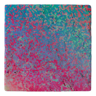 Trivet Colorful Corroded Background