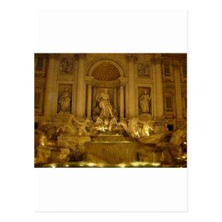 Trivi Fountain Postcards
