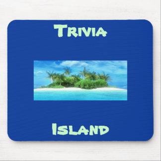 Trivia Island Mouse Pad
