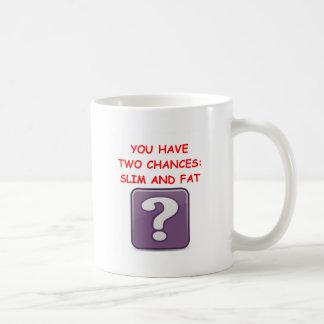 trivia basic white mug