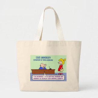 trivial nonsense federal grants tote bags