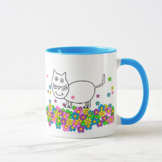 Trixie the Cat mug