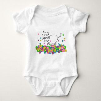 Trixie the Cat one-sie Baby Bodysuit