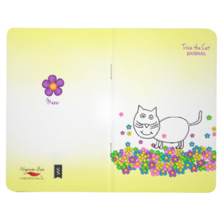 Trixie the Cat pocket journal