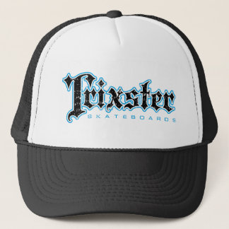 Trixster Skateboards Distressed Trucker Hat