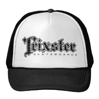 Trixster Skateboards Distressed Trucker Hat