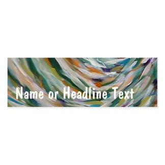 TRJ Fine Art Skinny Profile or Business Card
