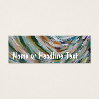 TRJ Fine Art Template Mini Business Card