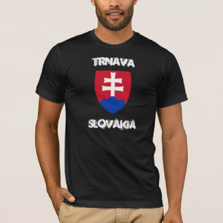 Trnava, Slovakia with coat of arms T-Shirt