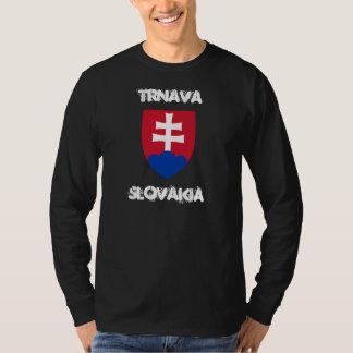 Trnava, Slovakia with coat of arms T-Shirt