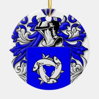 Trobaugh Coat of Arms Ornament