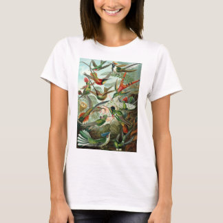 Trochilidae Hummingbirds by Ernst Haeckel T-Shirt