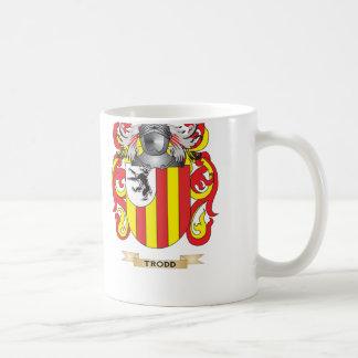 Trodd Family Crest Coat of Arms Coffee Mug