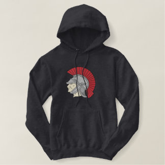 Trojan Embroidered Pullover Hoodie
