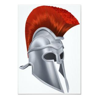 Trojan Helmet Invitations