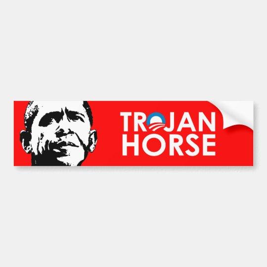 TROJAN HORSE BUMPER STICKER
