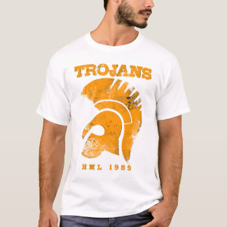 Trojan Men's T - Destroyed T Shirt