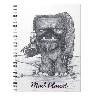Troll and Companion drawing Notebooks
