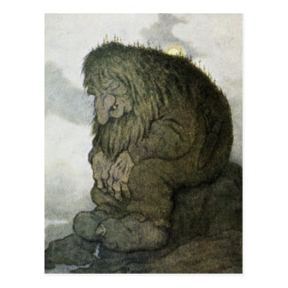 TROLL at Rest Postcard