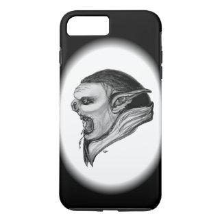Troll Black and White Design iPhone 7 Plus Case