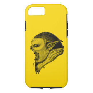 Troll Black and Yellow Design iPhone 7 Case