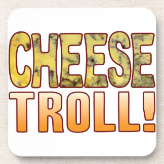 Troll Blue Cheese Beverage Coaster