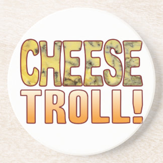 Troll Blue Cheese Beverage Coasters