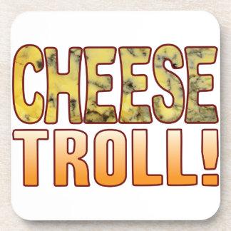 Troll Blue Cheese Coaster