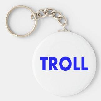 Troll Blue Keychains