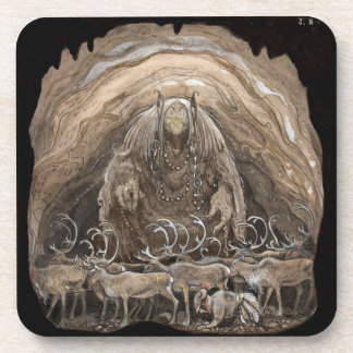 Troll Boy and Reindeer Coaster